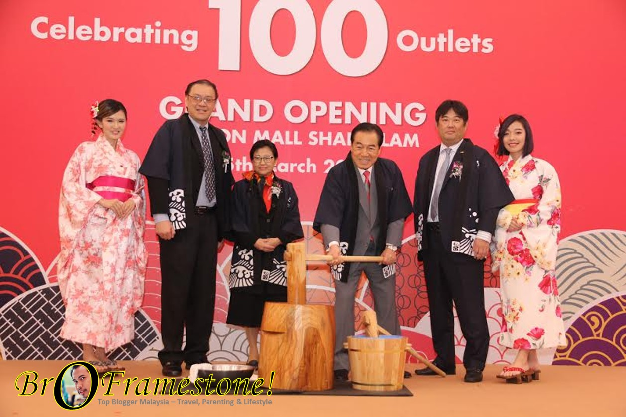 Sushi King 100th Outlet Launch at AEON Mall Shah Alam