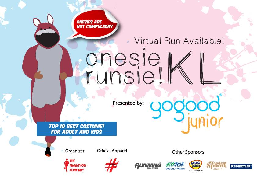 Onesie Runsie! KL 2016