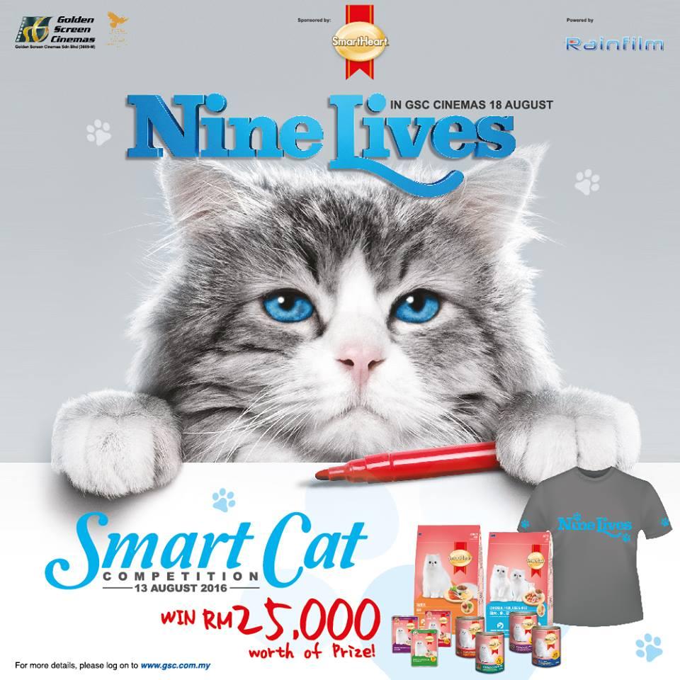 Nine Lives Smart Cat Competition