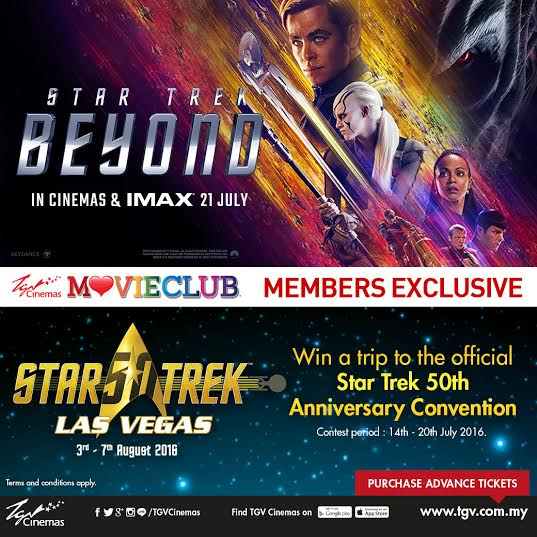 Win A Trip to Star Trek Convention in Las Vegas