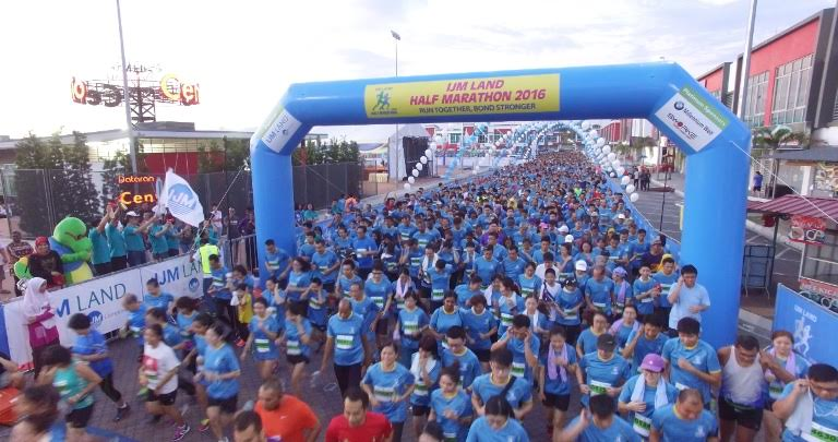 6,000 Malaysians take part in IJM Land Half Marathon 2016