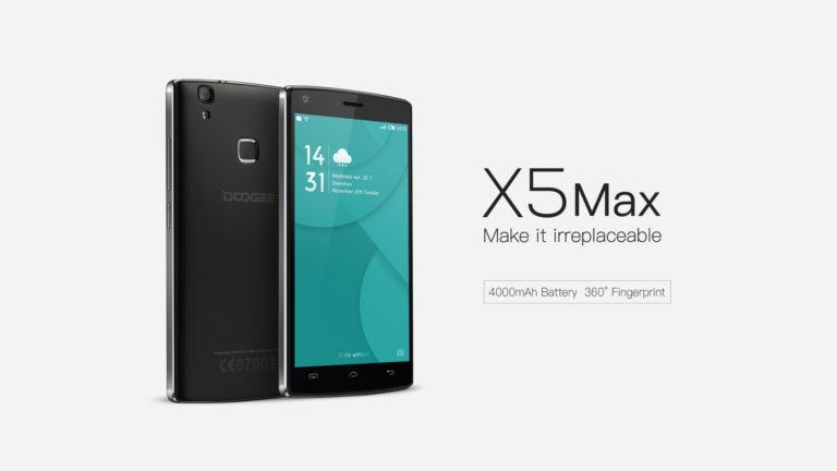 Doogee launches Doogee X5 Max & X5 Max Pro