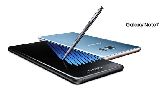 Samsung Unveils the New Galaxy Note7