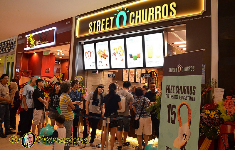 World's Largest Churros Café at IOI City Mall, Putrajaya