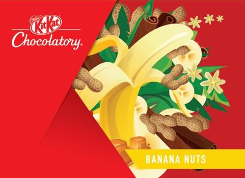 Kit Kat Banana Nut Caramel Cluster