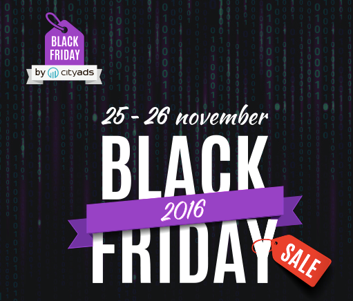 Online Black Friday with CityAds