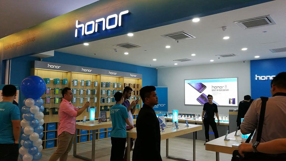 TF Mobile Enterprise, Honor Malaysia's first Concept Store