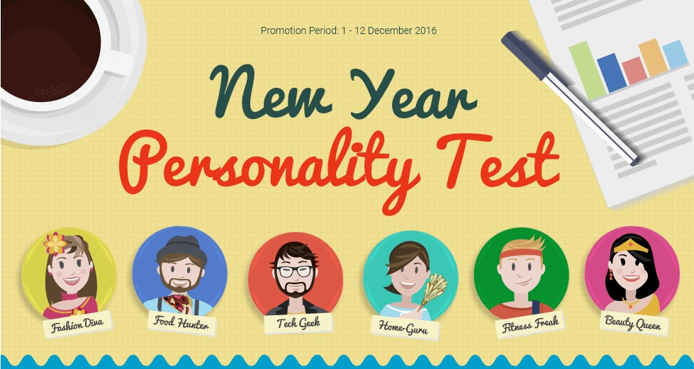 11Street New Year Personality Test
