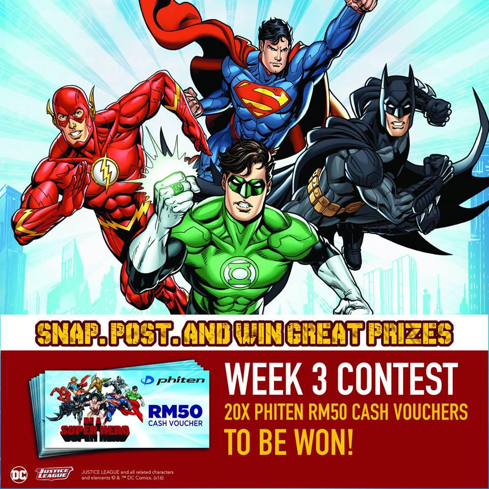 DC Comics Super Heroes Contest