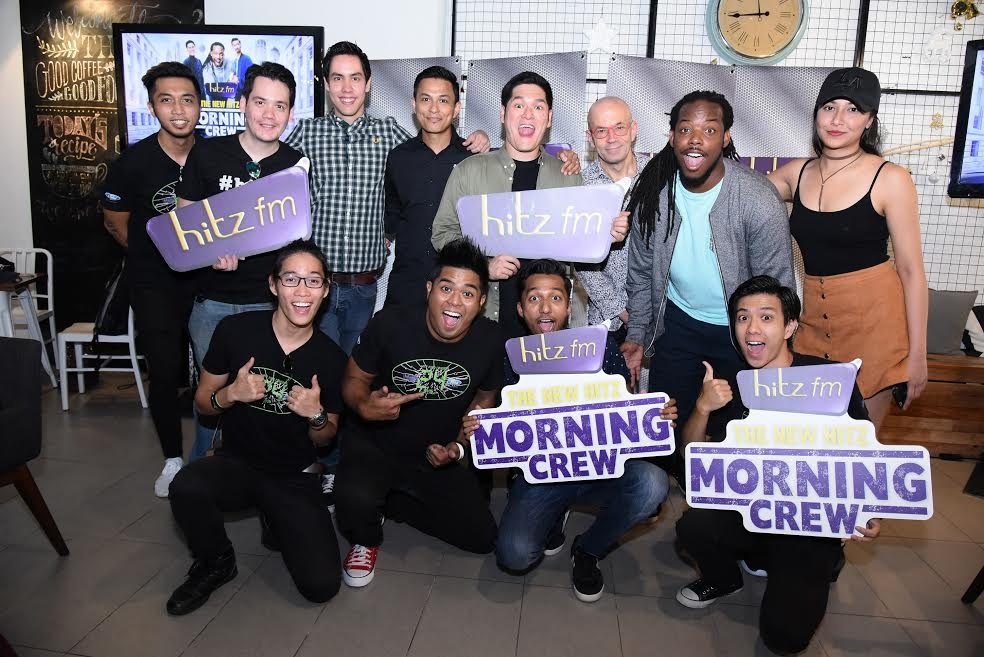 hitz fm Morning Crew 2017