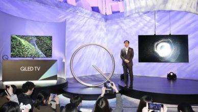 Hyun Suk Kim, President of the  Visual Display Business at Samsung  Electronics,