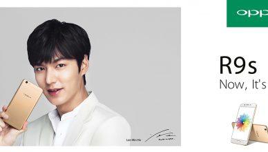 Lee Min-ho New Ambassador of OPPO R9s