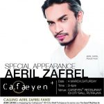 Aeril Zafrel Special Appearance at Cafaeyen+ IOI City Mall