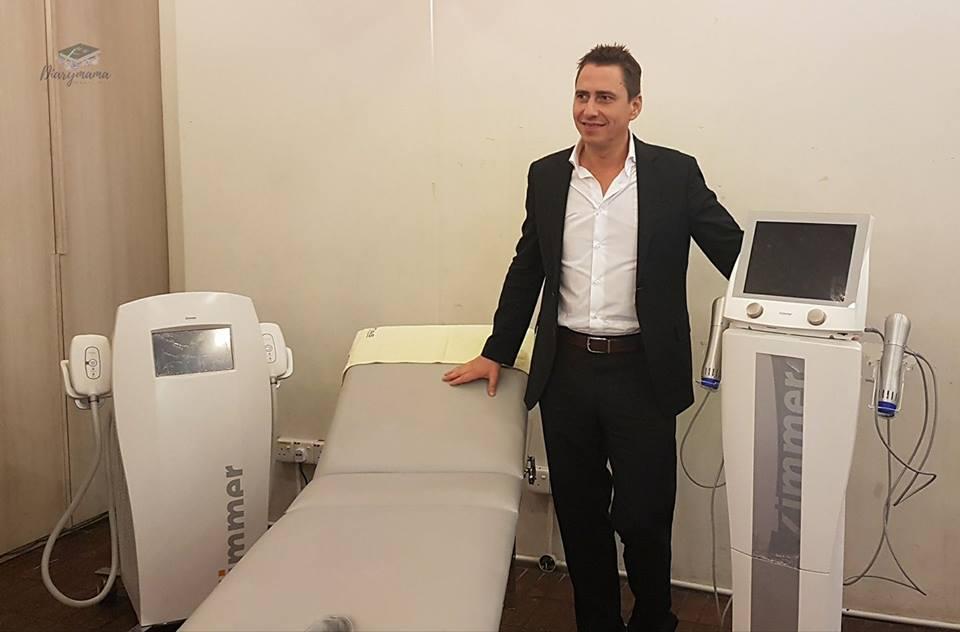 Mr Henry Holitschke, Zimmer Area Sales Manager from Germany
