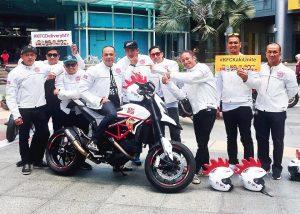 KFC Dukaki riders
