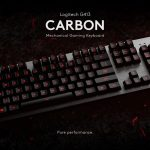 The Logitech G413 Carbon Mechanical Backlit Gaming Keyboard