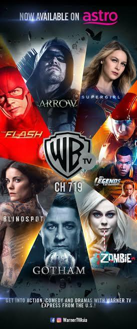 Warner TV's Superheroes Arrive on Astro