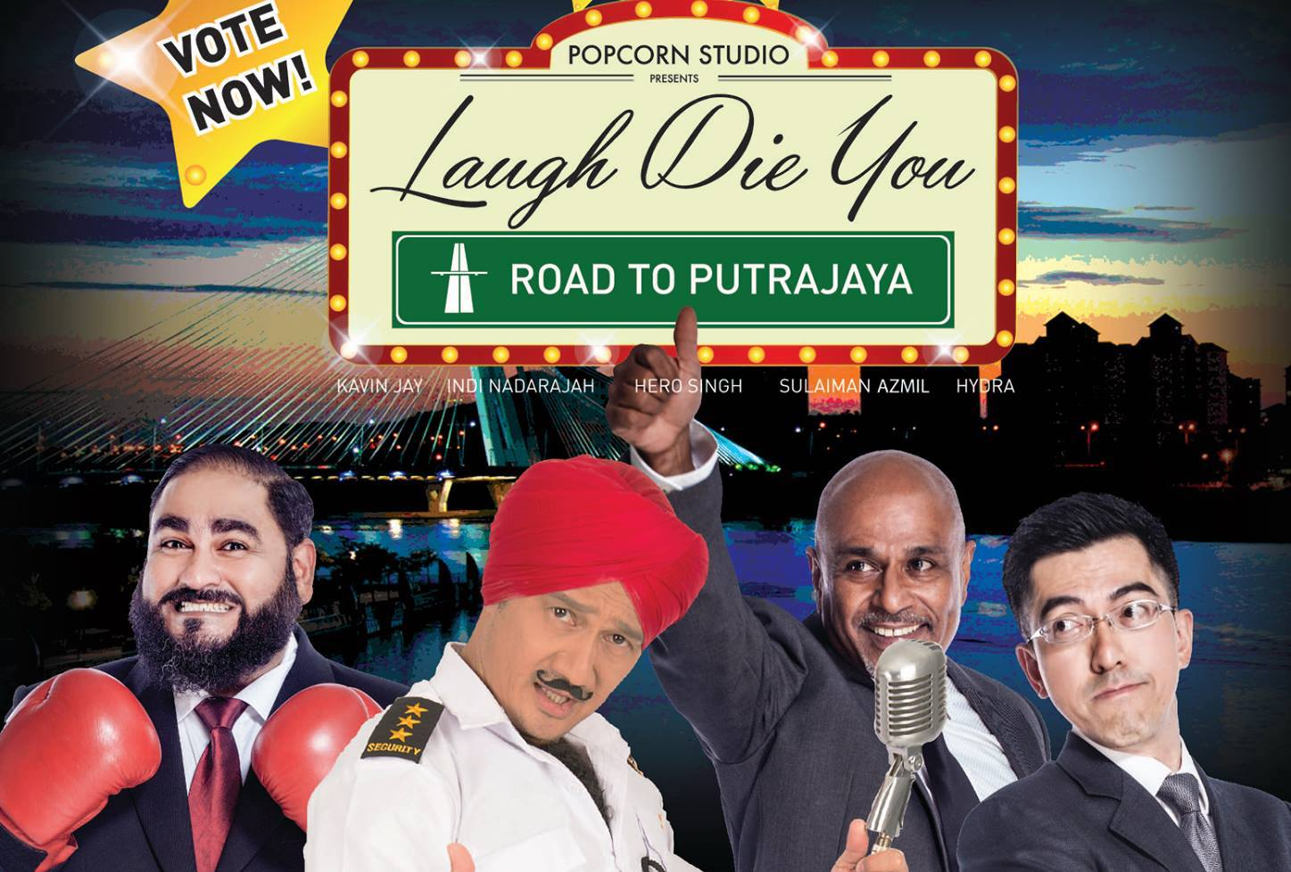 Laugh Die You : Road To Putrajaya