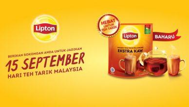 Lipton Make Hari Teh Tarik Malaysia A Reality