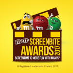 M&M's Screen Bite Awards 2017