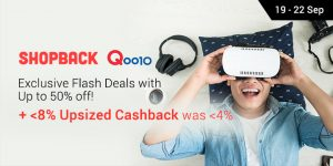 Qoo10 Flash Deals with Samsung Galaxy Note 8 Offer