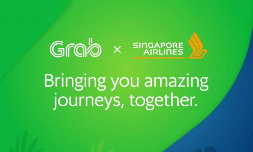 Singapore Airlines And Grab Extensive Partnership