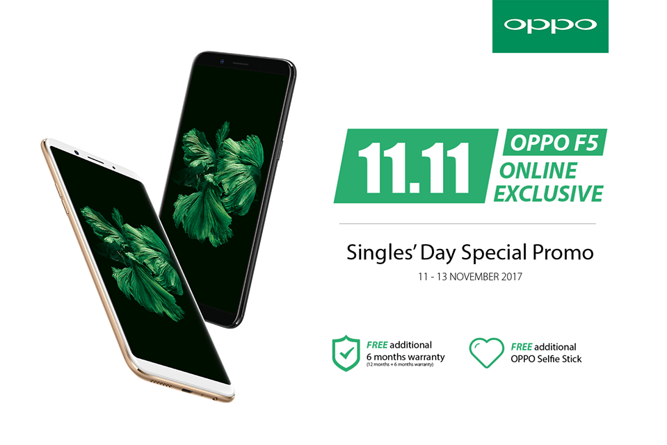 Celebrate the annual 11.11 single day with OPPO Malaysia and Lazada