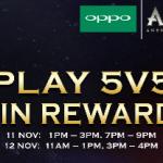OPPO F5 X AOV Tournament 2017