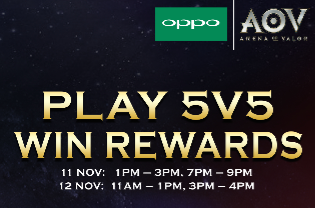 OPPO F5 X AOV Tournament 2017