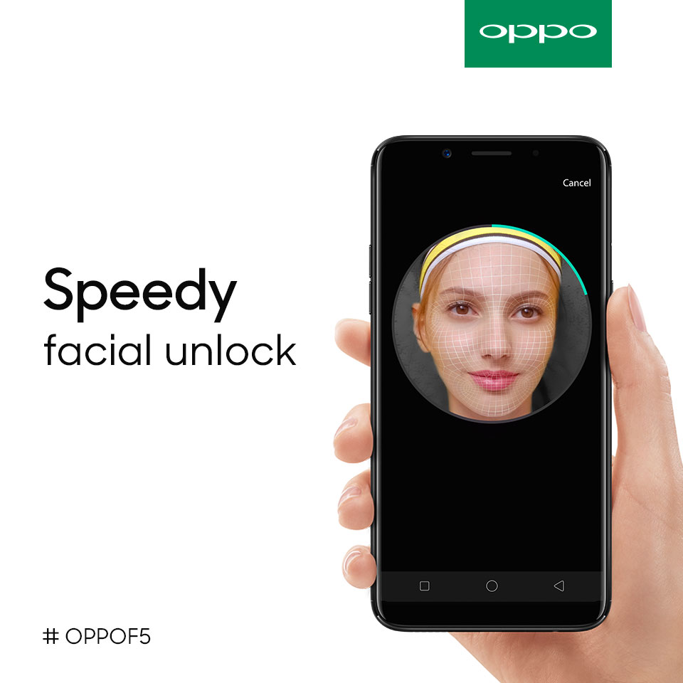 Unlock Your OPPO F5 With Your Face
