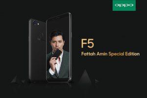 OPPO F5 Fatah Amin Special Edition