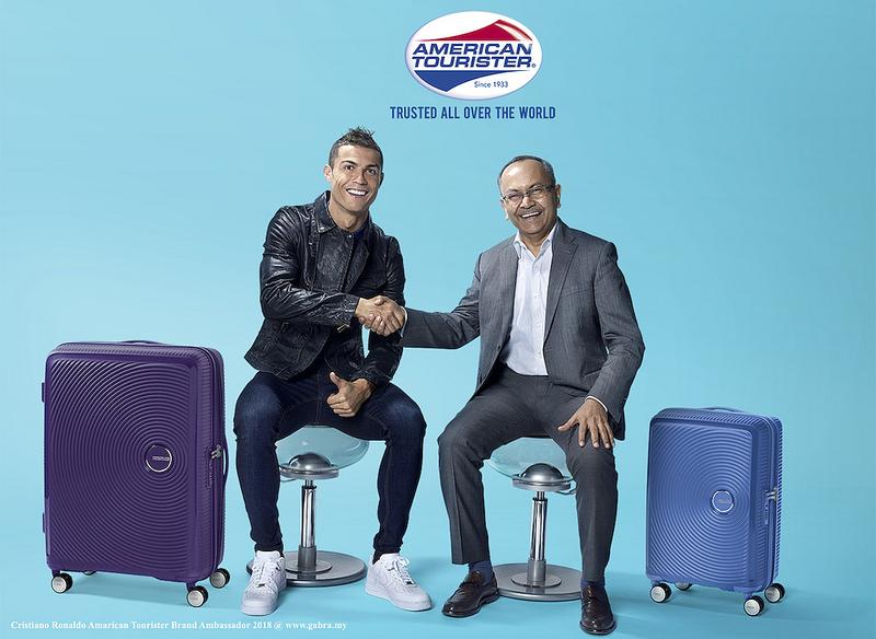 American Tourister Announces Cristiano Ronaldo as its 2018 Brand Ambassador