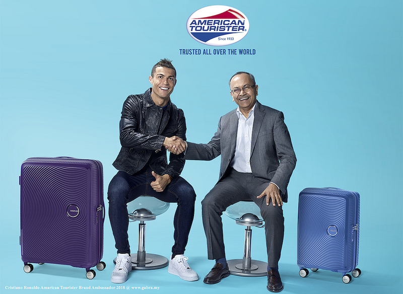 Cristiano Ronaldo Amarican Tourister Brand Ambassador 2018
