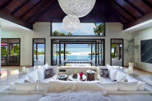 Niyama Family Beach Pavilion Living Room
