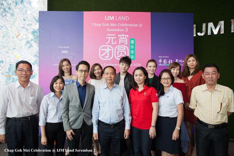 Chap Goh Mei Celebration at IJM Land Seremban 2