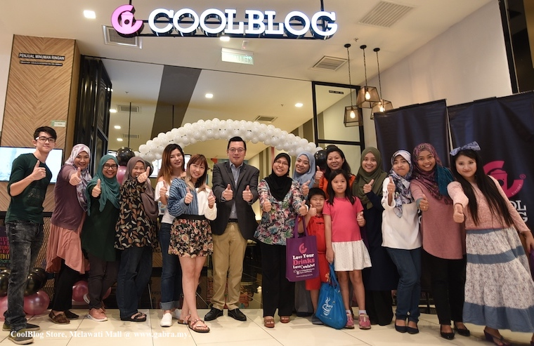 CoolBlog Open Its First Ever Largest Store in Melawati Mall