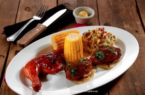TR_Lamb Steak & Quarter BBQ Chicken
