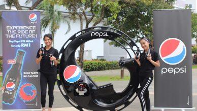 Pepsi Futuristic Monobike Contest