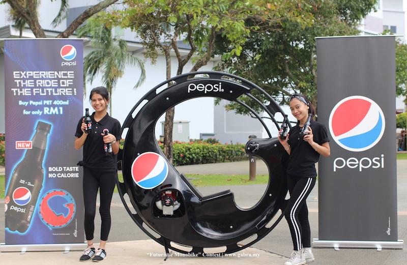 """NEW Pepsi Black Launches The """"Futuristic Monobike"""" Contest"""