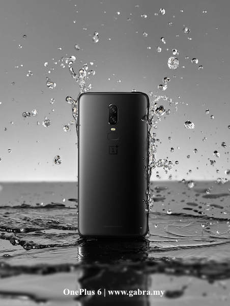 OnePlus 6 is now water-resistant