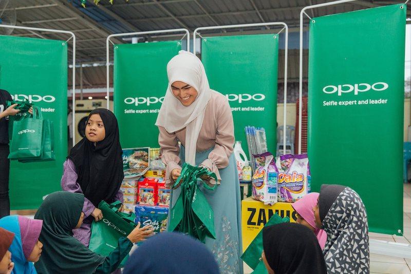 OPPO Brings Joy To Underprivileged Children in Rumah Titian Kaseh