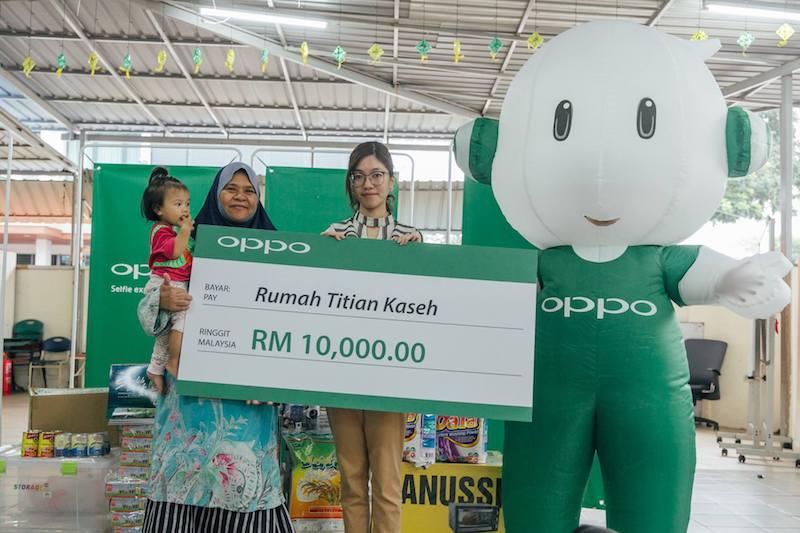 OPPo Malaysia Rumah Titian Kaseh