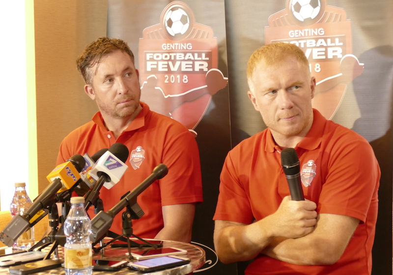 Genting Football Fever 2018 with Robbie Fowler and Paul Scholes