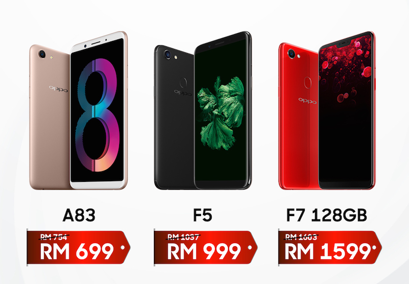 New price adjustment from OPPO, starting from RM699