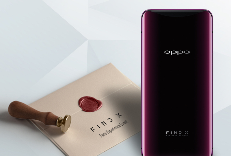 OPPO Find X Fan Experience Event