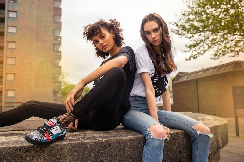 Puma & Shantell Make a Bold Statement for Autumn '18 Collection