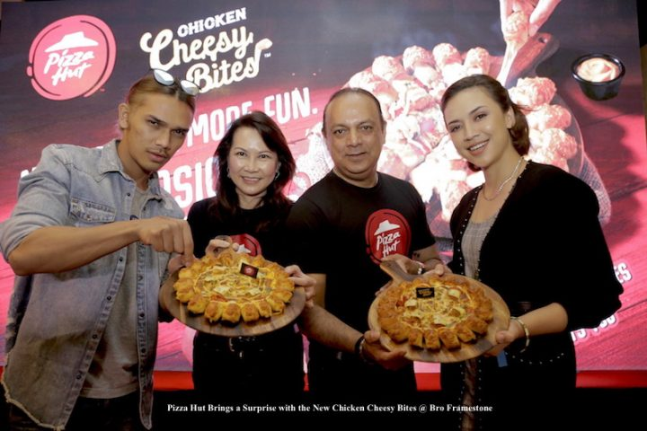 Pizza Hut Brings a Surprise with the New Chicken Cheesy Bites