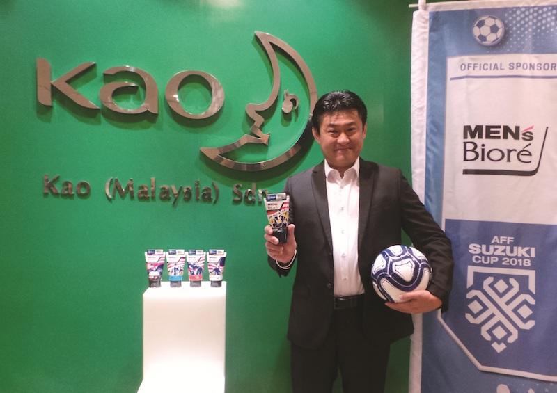 Mr Masaki Fujiwara, President of Kao Malaysia