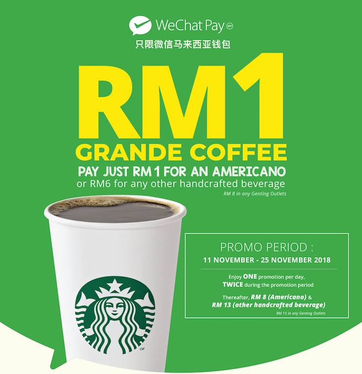 Starbucks WeChat Pay My