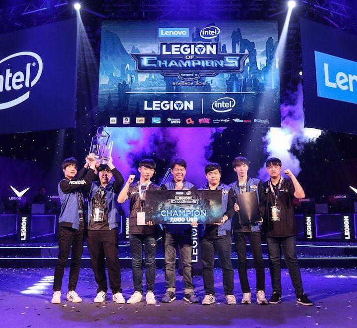 Legion of Champions III 2019 – Lenovo and Intel's eSports tournament
